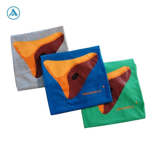 Tričko Anatomic - pánske | Lezecké chyty a Horolozecké steny - Anatomic