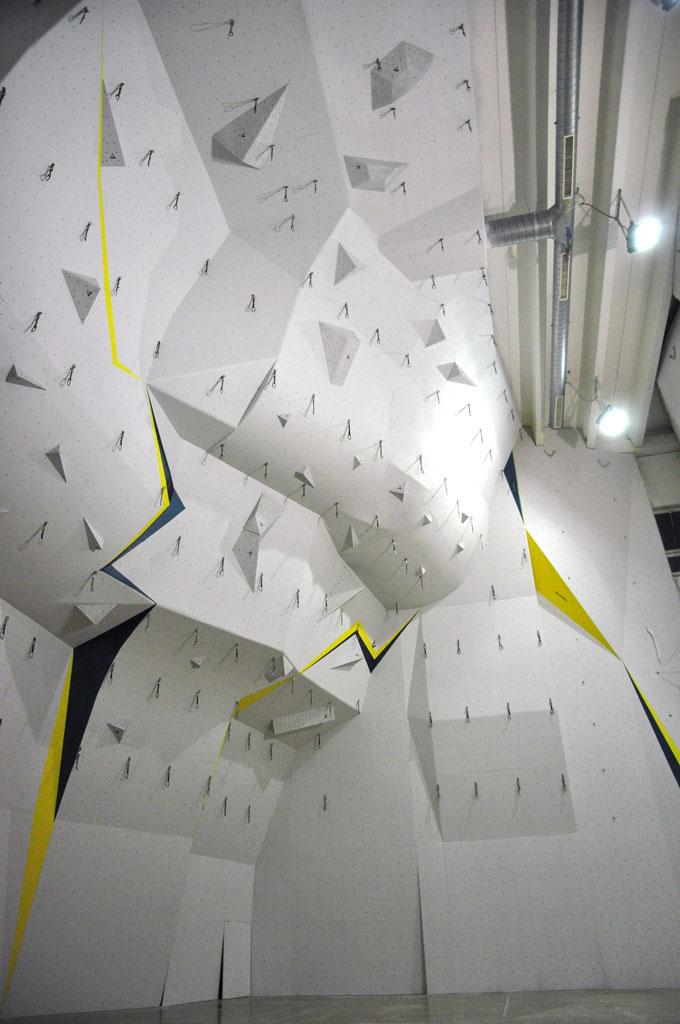 Lezecká stena HK Manín, renovácia steny