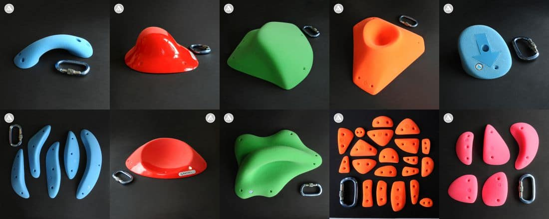 Climbing Holds - New models