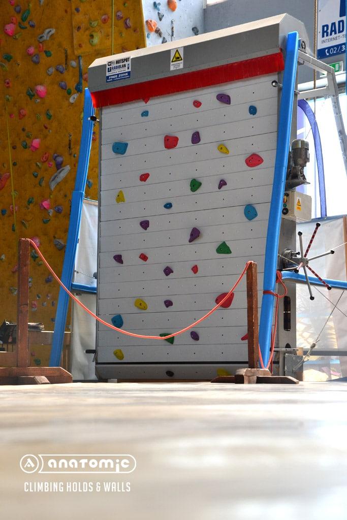 Projekt rotačnej lezeckej steny